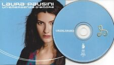 SEXY - LAURA PAUSINI - Emergenza D'Amore - rare Promo-CD-Single-Issue with Sheet