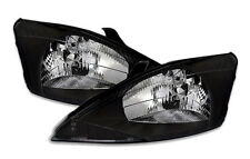 Clear Black headlights front light set for FORD FOCUS MK1 98-01