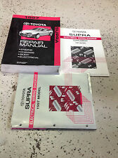 1997 Toyota Supra Service Repair Shop Workshop Manual OEM Set Factory 1997