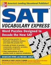 SAT Vocabulary Express : Word Puzzles Designed to Decode the New SAT by...