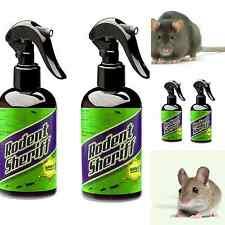 Mice Poison Spray Rats Trap Get Rid Sherrif Rodent Killer Set 2 8Oz Pest Control