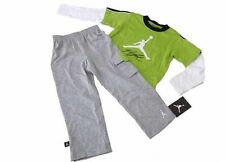 Nike Air Jordan Logo Baby Boy Romper Bodysuit & Pants Set Clothes SZ 6-9 Months