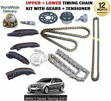 FOR BMW E91 TOURING 3 SERIES XDRIVE 2007-  UPPER + LOWER TIMING CHAIN KIT SET