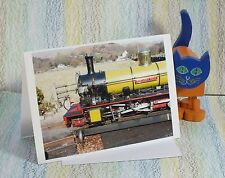 "Card: ""Eskdale Railway locomotive Northern Rock"" #PeterBrighousePhotography"