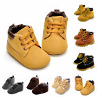 Baby Boy Girl Soft Sole Crib Leather Shoes Infant Toddler Velcro Sneakers Sizes