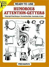 Ready-to-Use Humorous Attention-Getters (Dover Clip Art Ready-to-Use)-ExLibrary