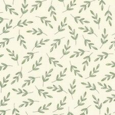 Robert Kaufman Fawns and Friends AWU 16672 14 Natural Leaves Cotton Fabric BTY