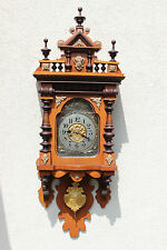 Balcony JUNGHANS   wall clock at  1900 greate condition
