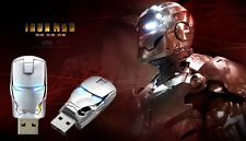 1pcs USB 2.0 unique iron man model 16G Enough Memory Stick Flash pen Drive BA22