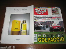 AUTOSPRINT 1998/39=EDDIE IRVINE=RALLY SAN MARTINO DI CASTROZZA=PROVA ALFA 166=