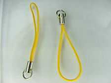 50 ATTACHES -JAUNE D OR- TELEPHONE  PORTABLE, CLES, SAC