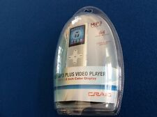 MP3 Plus Video Player w-1.8 inch color display, 4GB, holds 64 hours of music,New