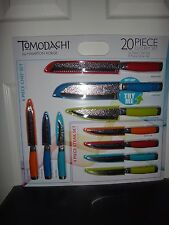 Tomodachi by Hampton Forge 20 Piece Knife Cutlery Set~8Pc Steak & 12Pc Chef Set