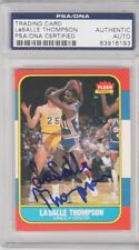 LaSalle Thompson Sacramento Kings 1986 Fleer Signed AUTOGRAPH PSA DNA 83916193