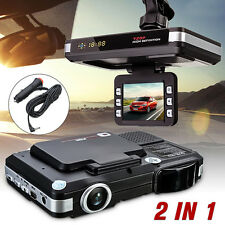 New MFP 5MP Car DVR Recorder+Radar Laser speed Detector Trafic Alert Englis