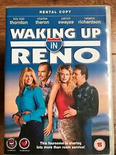 Charlize Theron Patrick Swayze WAKING UP IN RENO ~ 2001 Comedy | UK Rental DVD