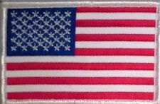 USA AMERICAN FLAG MILITARY POLICE FIRE UNIFORM MOTORCYCLE BIKER VEST PATCH O-7