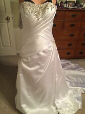 Alfred Angelo Sapphire Bridal Wedding Gown 10/12  # 844 NWT was $1200