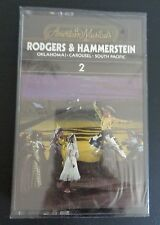 RODGERS & HAMMERSTEIN Carousel Oklahoma South Pacific NEW Cassette 2 Time Life