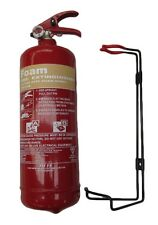 NEW 2 LITRE FOAM (AFFF) FIRE EXTINGUISHER - BRITISH STANDARD KITEMARK