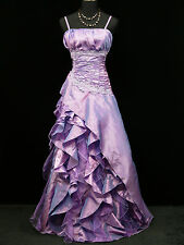 Cherlone Plus Size Purple Ballgown Wedding Evening Formal Bridesmaid Dress 20
