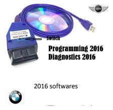 BMW USB - OBD K + Dcan Diagnostic Cable Switched