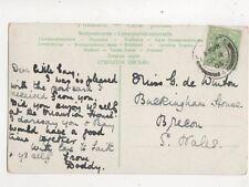 Miss G De Winton Buckingham House Brecon 1905 479b