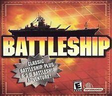 BATTLESHIP & BATTLESHIP 3-D (2001) PC CD-ROM NEW & FACTORY SEALED