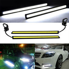 1pc Waterproof 17cm COB White Car LED Lights 12V For DRL Fog Light Driving lamp
