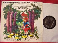 Grimms Märchen und Abenteuer   5 Märchen   rare Delta  LP