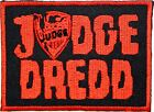 JUDGE DREDD Iron On Sew On Fancy Dress Embroidered Shirt Bag Badge Patch 3.2""