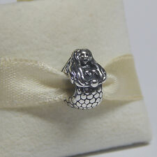 New Authentic Pandora 791220 Charm Mermaid Bead Box Included
