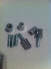 5 each of 3/8-16 ferrule and 5/16-18 hanger bolts. beer tap handle repair parts