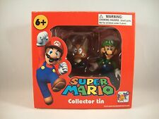 "Super Mario Collector Tin ""Paragoomba + Luigi"" Figuren Nintendo Figure Brothers"