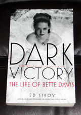 DARK VICTORY The Life of BETTE DAVIS by ED SIKOF bio NEW 2007 paperback ARC