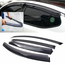 New Smoke Window Rain Guards Vent Visor Molding 4P for KIA 2011 - 2015 Optima K5