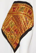 Vintage Mirror Hippie Tribal wall Belly Dance Dancing Hip Scarf Tapestry Belt