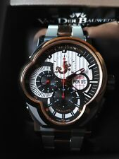 Limited watch Van Der Bauwede Legend Rider mechanical chrono auto. Sold out!