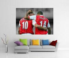 THIERRY HENRY & DENNIS BERGKAMP ARSENAL GIANT WALL ART PICTURE PHOTO POSTER