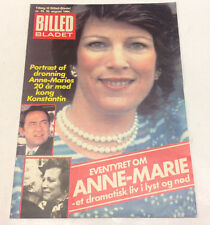 GREEK QUEEN ANNE-MARIE KING CONSTANTINE MANY PHOTOS SPECIAL ISSUE MAGAZINE 1984.