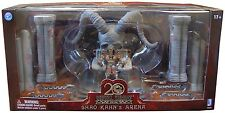Mortal Kombat Figura De Acción Box Set Shao Kahn Throne & Arena 20th aniversario