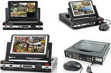 """Videoregistratore digitale 4CH + LCD 7"""".DVR 4 canali video audio colori,schermo"""