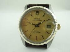 Authentic Tudor 75203 Prince Oysterdate 18K Steel Automatic Men's Watch