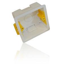Rivestimento a secco unico Indietro Box/Supporto Scatola 35mm 1 Gang