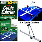 2 x Maypole Car Roof Mounted Upright Cycle Bike Travel Rack Holder Carrier -20kg