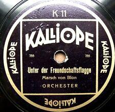 0601/ Unter der Freundschaftsflagge-Florentiner Marsch-Märsche-Schellack