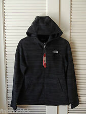 NORTH FACE TNF BLACK STRIA CRESCENT SUNSET HOODIE FLEECE JACKET, SIZE M ~NWT