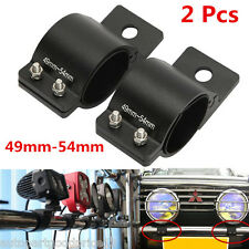 2x Car Offroad Bull Bar LED Work Fog Driving Light Holder Aluminum Mount Bracket