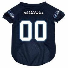 SEATTLE SEAHAWKS MESH PET DOG JERSEY NEW & OFFICIALLY LICENSED LARGE