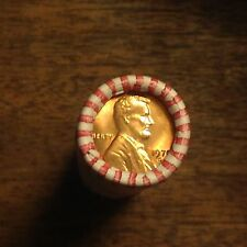 Gem Bu 1970 S Penny Lincoln Memorial Cent Roll Original Bank Wrapped Roll Obw